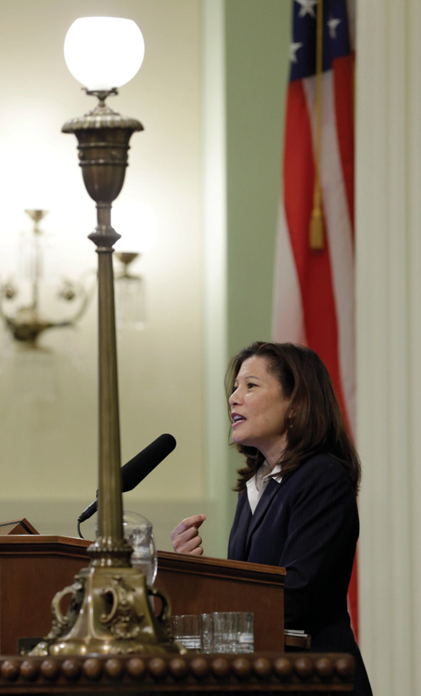 Chief Justice Tani G. Cantil-Sakauye (AP Photo/Rich Pedroncelli)