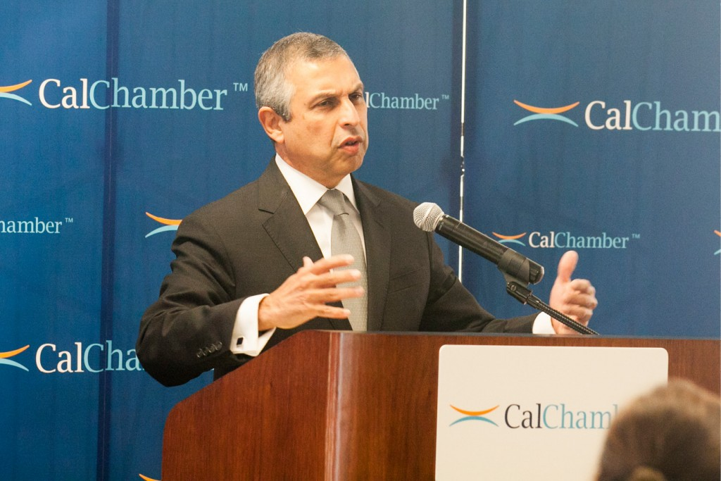 Ambassador of the Republic of Singapore to the United States Ashok Kumar Mirpuri.