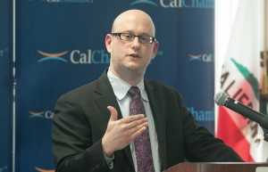 California Finance Director Michael Cohen presents an overview of the Governor's proposed 2016–17 budget at a January 12 CalChamber luncheon.