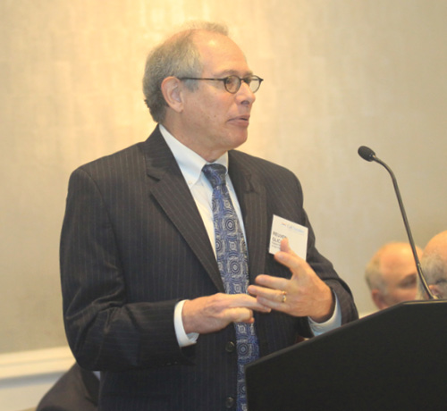Reuven Glick, group vice president of the International Research Department at the Federal Reserve Bank of San Francisco, outlines how the bank views foreign conditions when formulating its outlook for the U.S. economy. Glick said he foresees moderate growth into next year with inflation remaining relatively low and increasing slowly for the next two years.