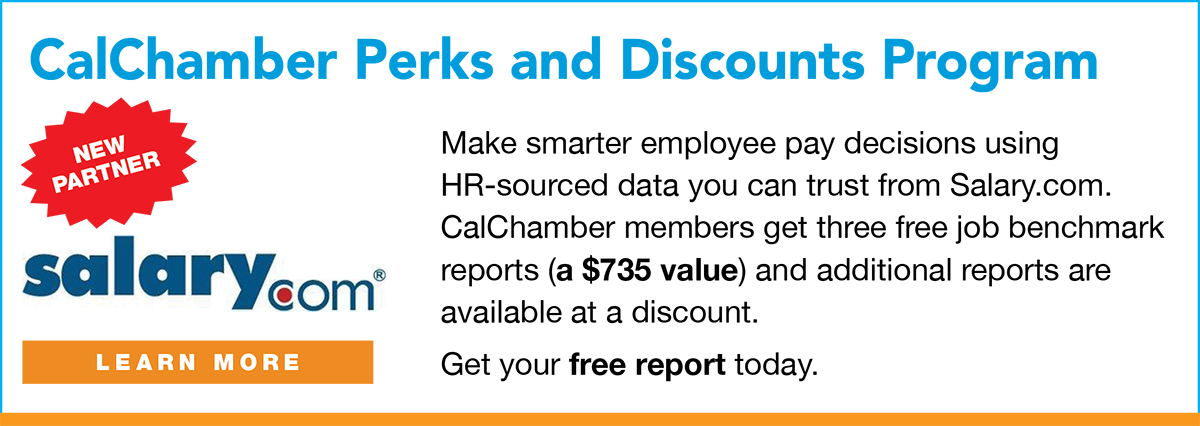 calchamber perks and discounts Program