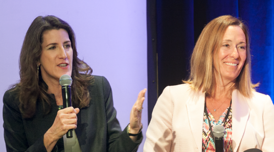 Assemblymembers Catharine Baker (R-San Ramon) and Jacqui Irwin (D-Thousand Oaks) revisit key victories and big battles from the 2015–2016 legislative session at the CalChamber Public Affairs Conference on November 30, 2016.